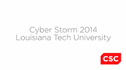 Cyber Storm 2014 video